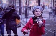 حمله شدید ماموران انتظامی شهر رشت به سه نوازنده خیابانی + ویدیو