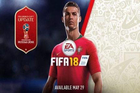معرفی آپدیت بازی فیفا ۱۸ برای جام جهانی روسیه