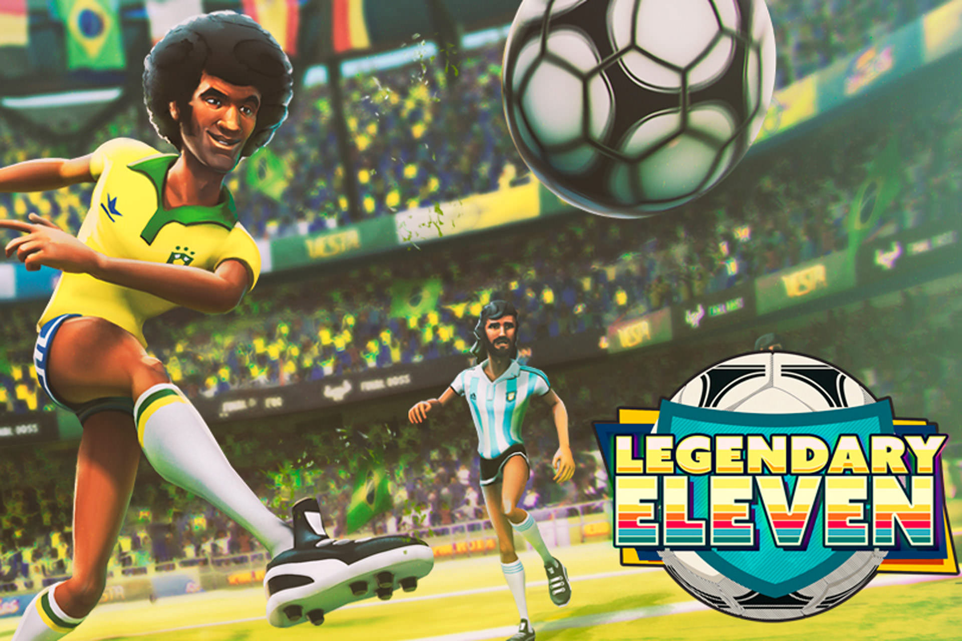 نقد بررسی بازی فوتبال Legendary Eleven (افسانه یازده)
