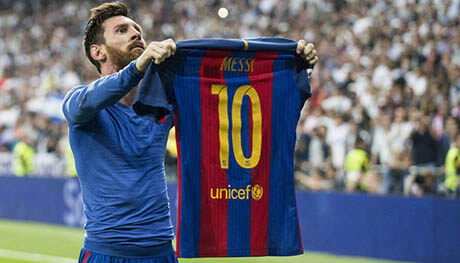 انیمیشن لیونل مسی ستاره بارسلونا