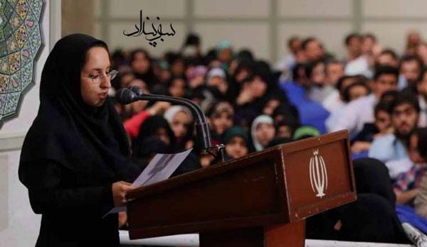انتقاد سحر محرابی از اعدام محمد ثلاث