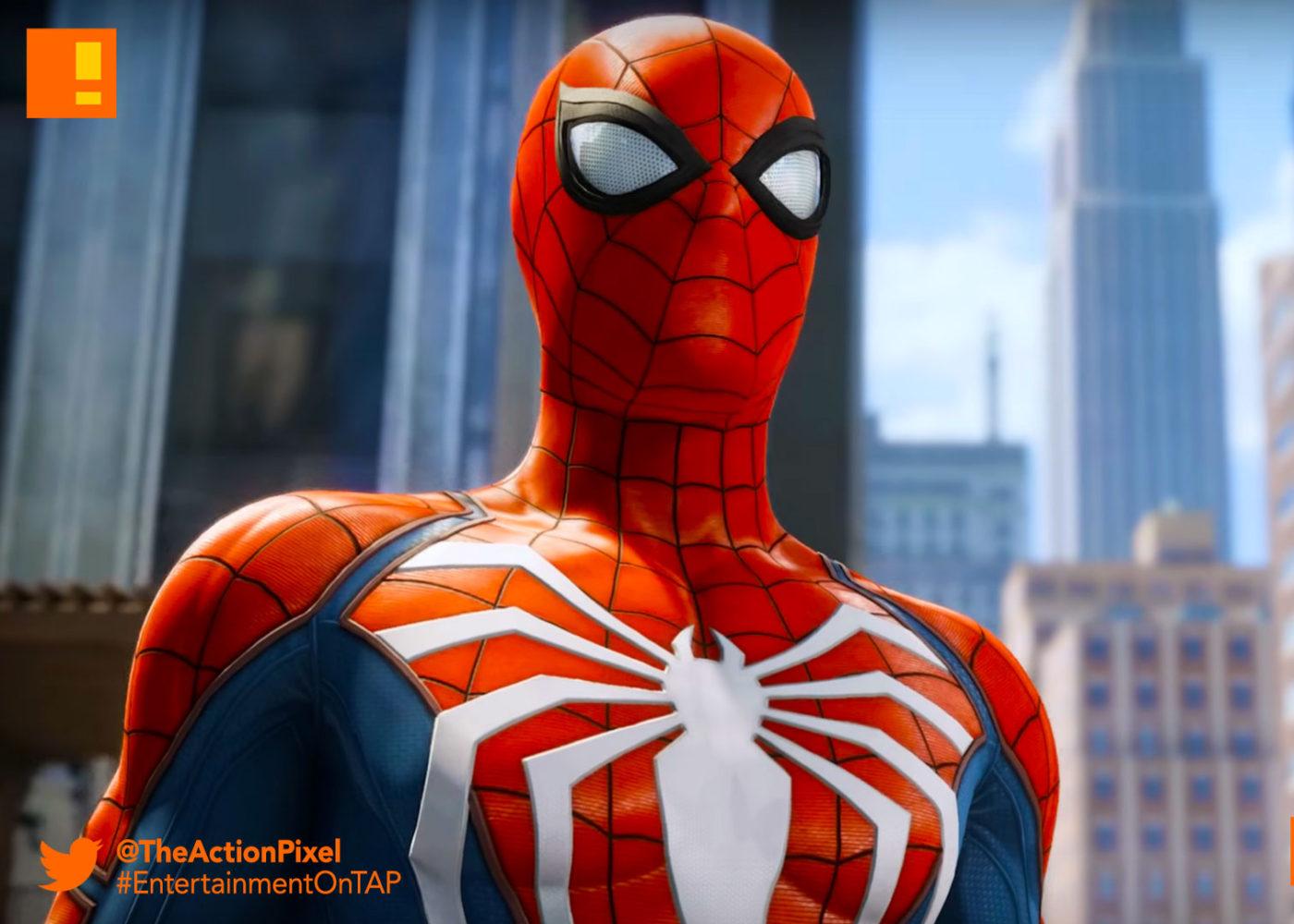 گیم پلی و تصاویر جدید بازی spider man ps4