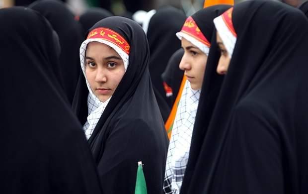 اجتماع دختران انقلاب با حضور الهام چرخنده