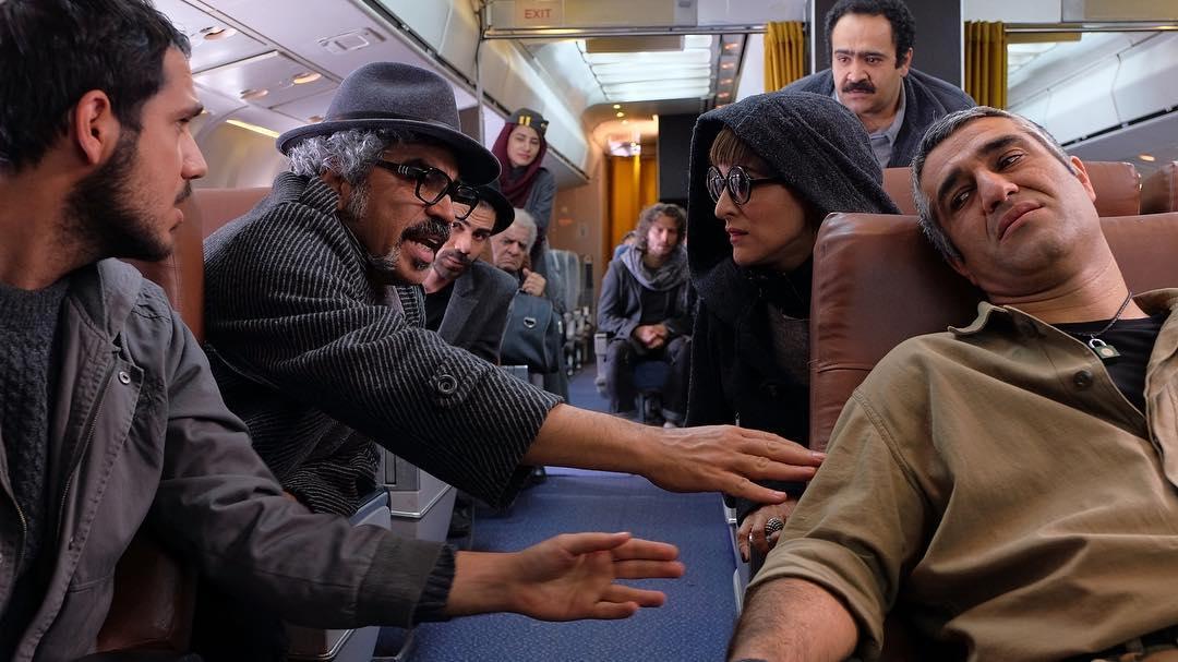 گریم مهران مدیری و گلزار در فیلم ما همه با هم هستیم