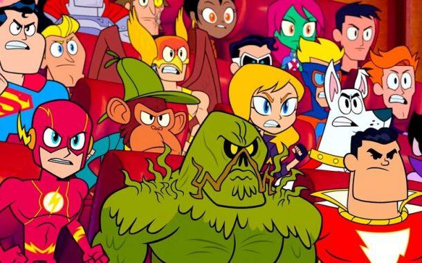 تیزر جدید انیمیشن تایتانهای نوجوان به سینما میآیند برادران وارنر
