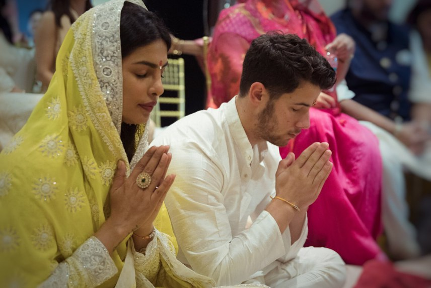 مراسم ازدواج پریانکا چوپرا با نیک جوناس