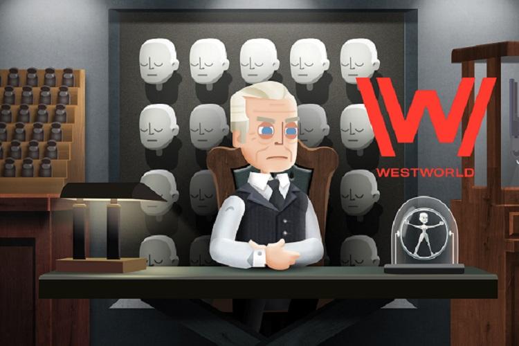 معرفی بازی موبایل سریاWestworldل (Delos Park Training Simulation)