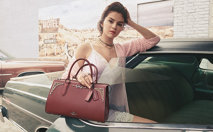 سلنا گومز در کمپین تبلیغاتی برندCOACH