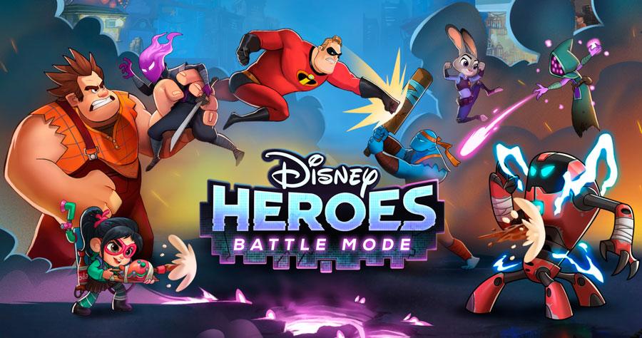 معرفی بازی موبایل Disney Heroes: Battle Mode