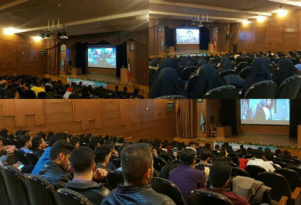 اکران پر حاشیه فیلم دارکوب در دانشگاه اراک