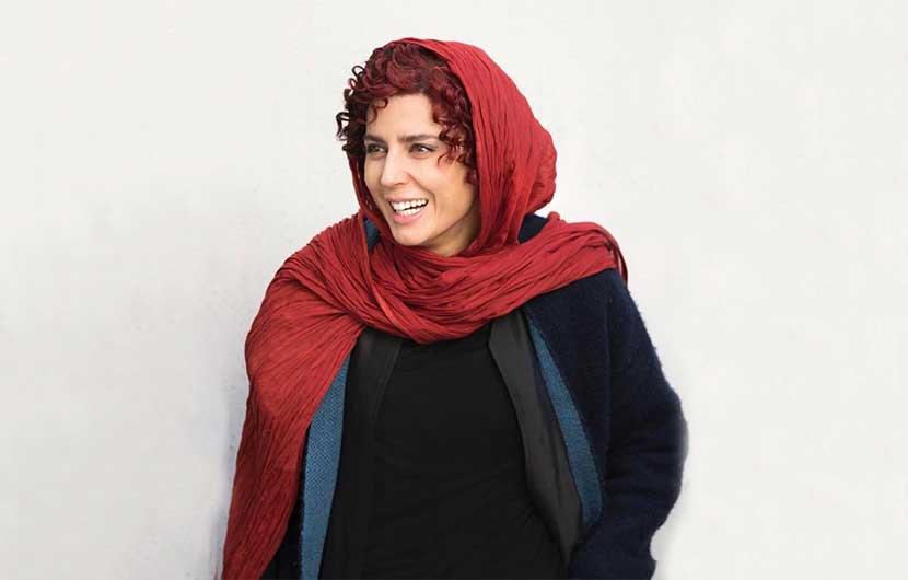 تعقیب مخفیانه لیلا حاتمی در پشت صحنه سریال نهنگ آبی توسط  هلیکس نبولا
