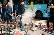 حمله ماموران سد معبر سبزوار به یک میوه فروش