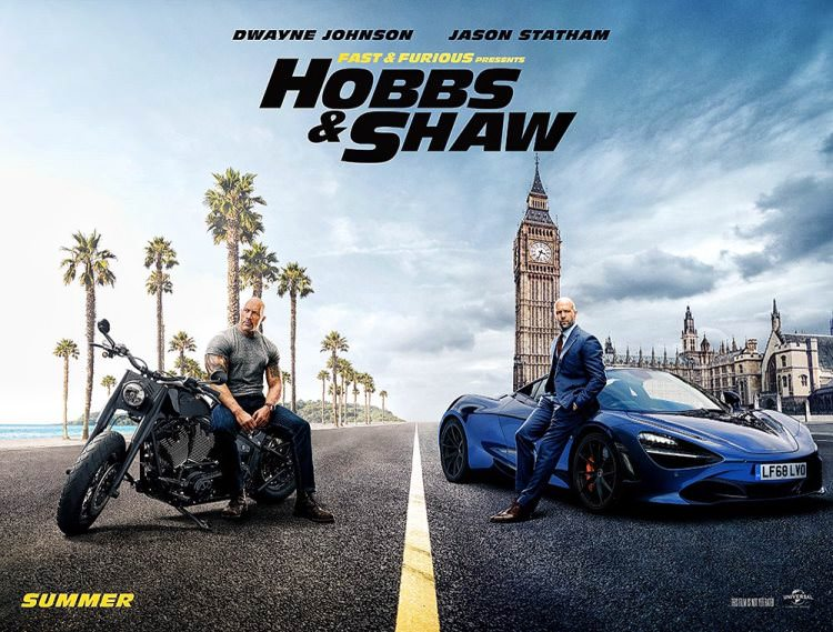 پوسترهای رسمی فیلم هابز و شاو