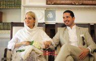 تصویر مهناز افشار و دخترش با چادر نماز و سجاده