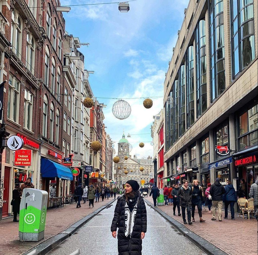 ترلان پروانه در آمستردام  + عکس
