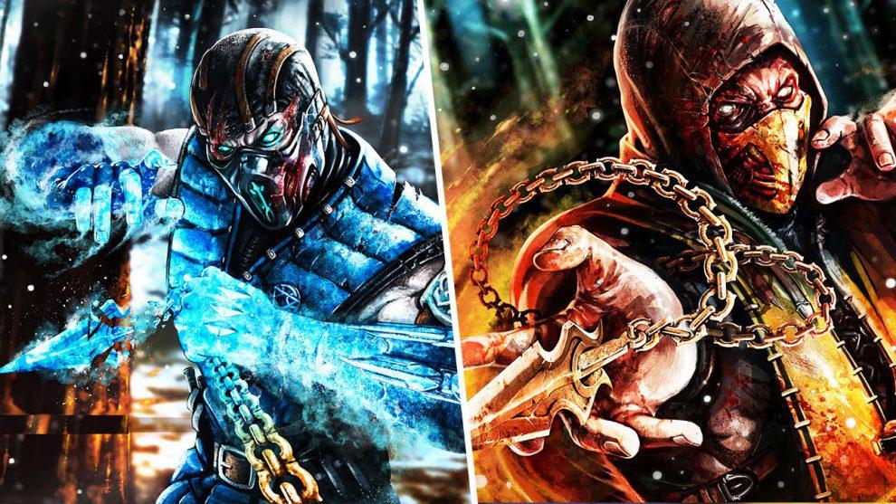 کاور رسمی بازی Mortal Kombat 11