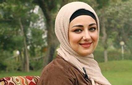 تصویر جدید ویدا جوان با نقاب عربی