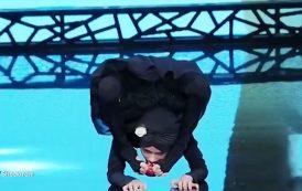 حرکات خارق العاده دختر ۸ ساله در مسابقه عصر جدید + ویدیو