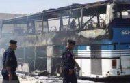حمله تروریستی به اتوبوس حامل زائران ایرانی در شهرستان بلد عراق