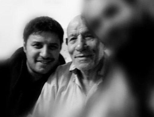پدر جواد عزتی فوت کرد