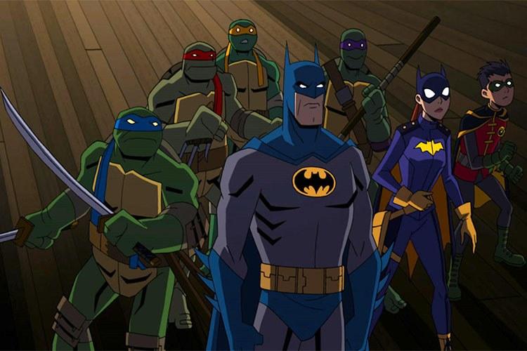 دانلود انیمیشن بتمن در مقابل لاک پشت های نینجا (Batman vs Teenage Mutant Ninja Turtles)