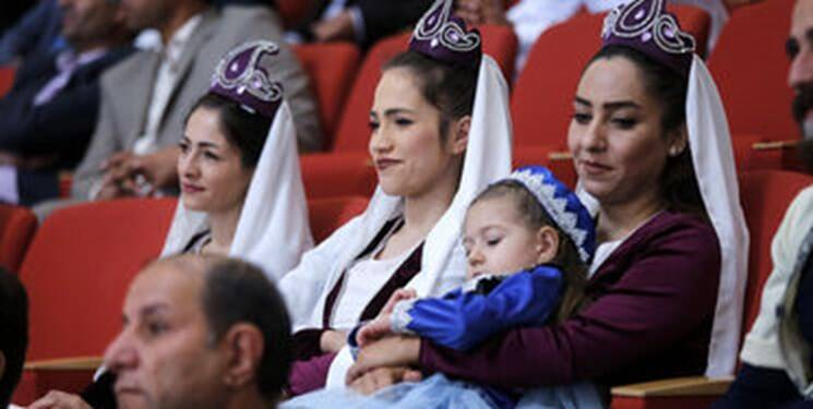 جنجال حضور زن های بی حجاب در سخنرانی رئیس جمهور روحانی