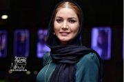 لباس عجیب متین ستوده در اکران فیلم مسخره باز + عکس