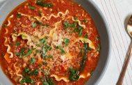 بهترین روش پخت سوپ لازانیا