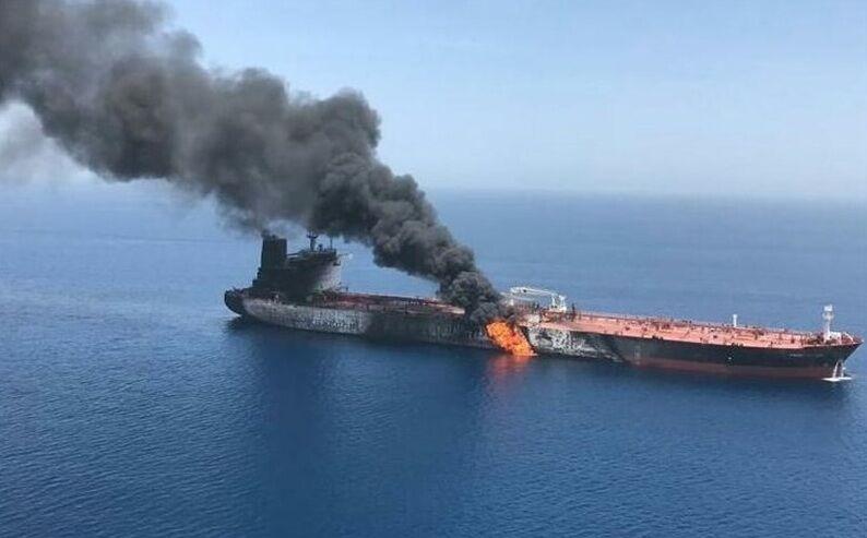 حمله موشکی عربستان به کشتی ایرانی در دریای احمد عربستان