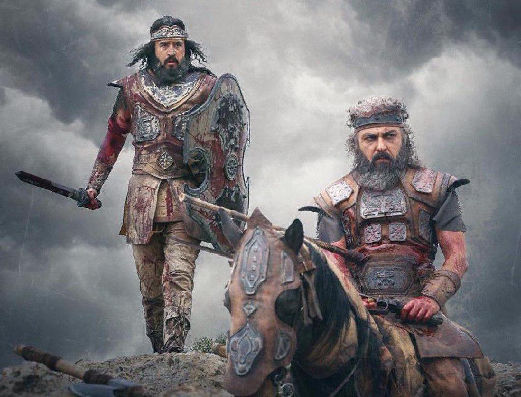 علیرضا کمالی یازیگر نقش کوروش کبیر در فیلم سمفونی نهم