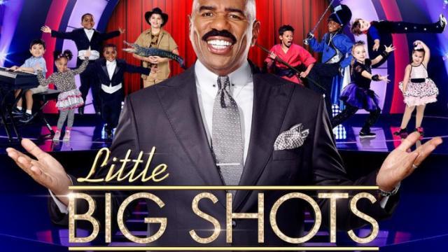کپی اعجبوبه ها مهران غفوریان از برنامه ی Little Big Shots با اجرای استیو هاروی