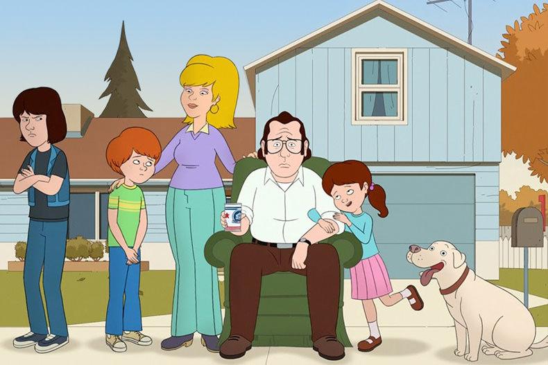 بررسی سریال انیمیشنی خ مثل خانواده (F is for Family)
