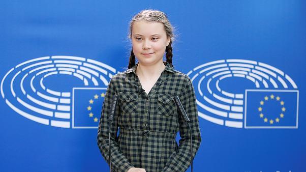گرتا تونبرگ، فعال نوجوان محیط زیست چهره سال ۲۰۱۹ مجله تایم شد