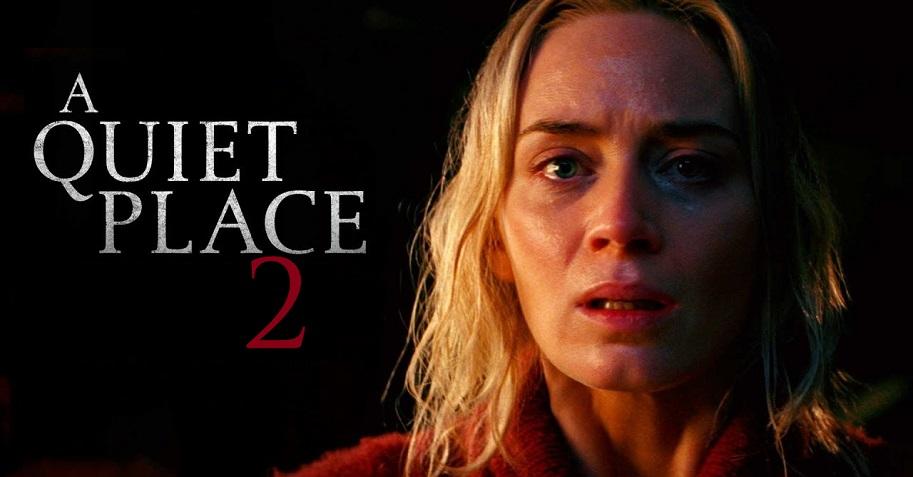 پوستر رسمی فیلم ترسناک A Quiet Place 2  (یک مکان ساکت ۲)