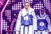 کیمیا علیزاده زیر پرچم آلمان در المپیک ۲۰۲۰