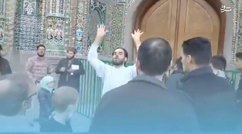 اهانت افراطی ها به حرم امام رضا و فحاشی به رئیس جمهور
