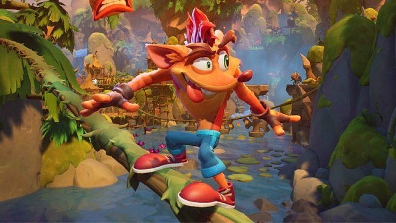گیم پلی ۳ دقیقه ای از بازی Crash Bandicoot 4 Its About Time