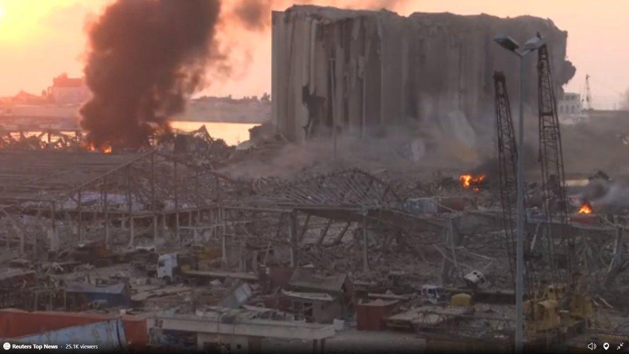 نقش اسرائیل در انفجار بیروت