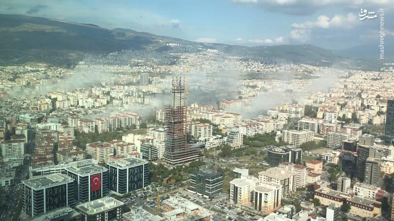 سونامی وحشتناک در غرب ترکیه بر اثر زلزله ۶٫۶ لیشتری