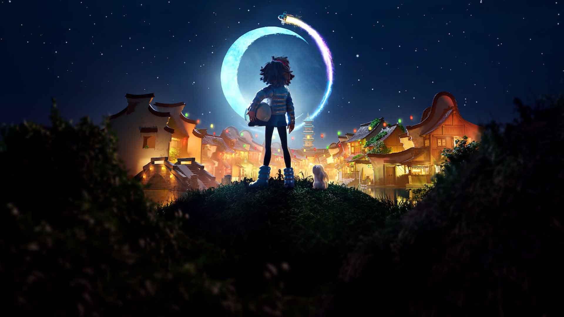 نقد بررسی انیمیشن روی ماه Over the Moon 2020