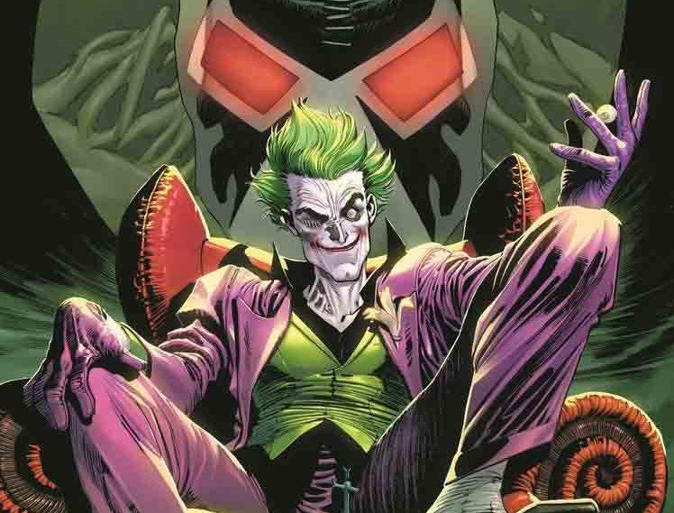 معرفی سیری کمیک هایThe Joker کمپانی دیسی