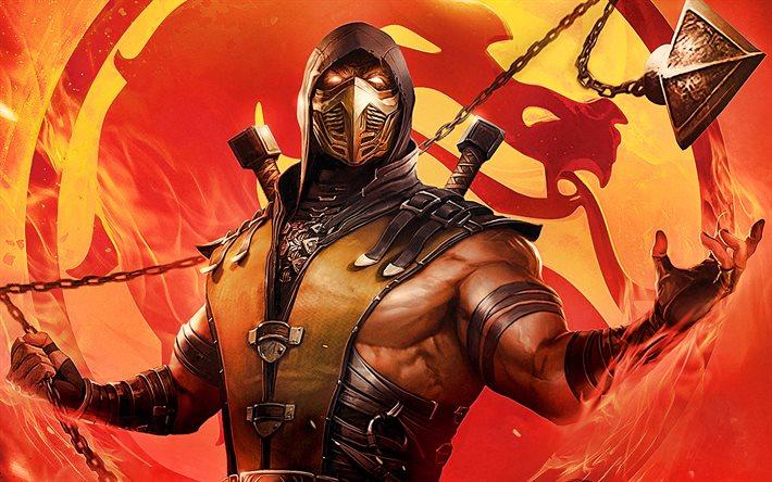 اولین پوستر رسمی فیلم لایو اکشن Mortal Kombat
