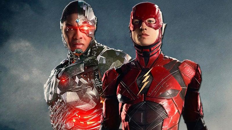 حذف شخصیت سایبورگ با بازی ری فیشر از فیلم The Flash
