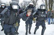 تظاهرات سراسری بیسابقه در روسیه برای آزادی ناوالنی منتقد سرشناس پوتین