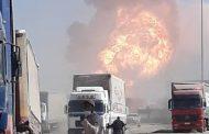 آتش سوزی وحشتناک در گمرک افغانستان