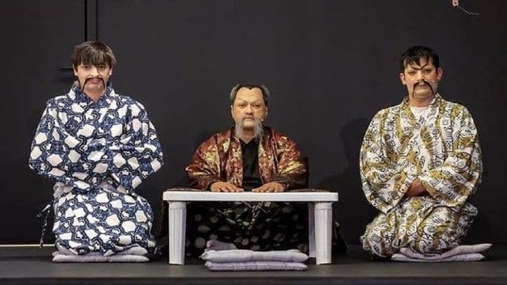 توهین رامبد جوان به فرهنگ ژاپن و سامورایی ها در خندوانه