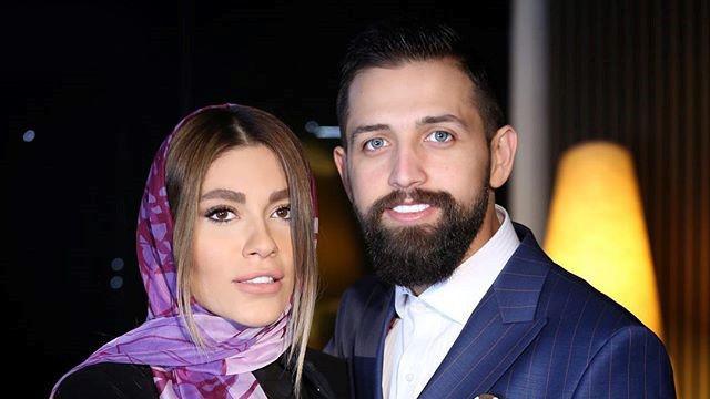محسن افشانی همراه سعید طوسی در حرم امام رضا