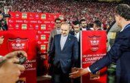 حمله به پرسپولیس با هشتگ بابا مسعود لنگی