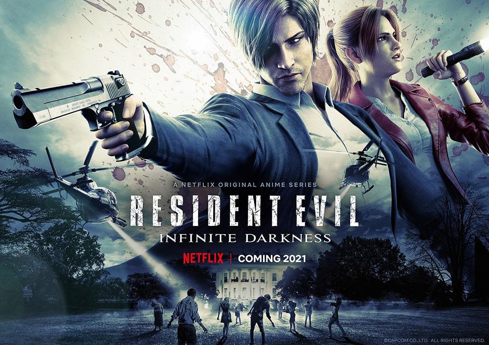 معرفی انیمیشن سریالی رزیدنت اویل تاریکی بی پایان Resident Evil: Infinite Darkness نتفلیکس