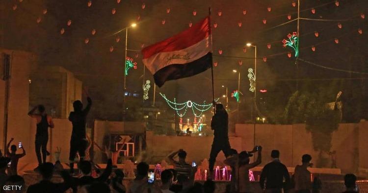 حمله مردم عراق و به آتش کشیدن سفارت ایران در کربلا